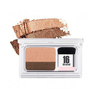 ONE-SWIPE TWO TONE EYESHADOW by 16Brands