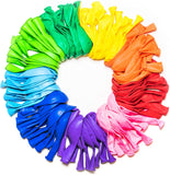 Latex balloons 5-count, 10-count, 20-count, and 100-count