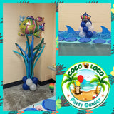 Underwater Adventures Start with Balloons From Coco Loco Party Center