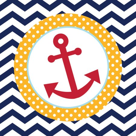 SALE - Ahoy Matey! Baby Shower & Anchors