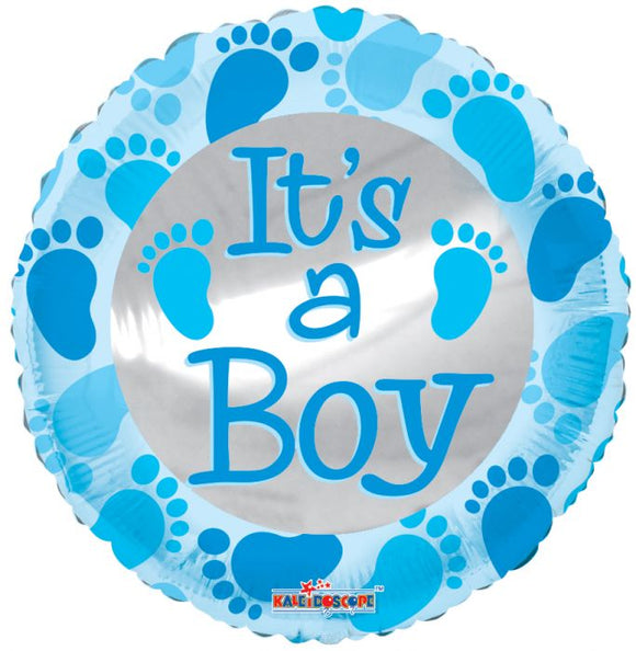 It's a Boy Holographic Balloon