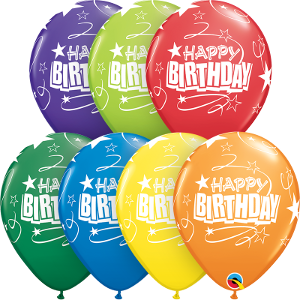 Balloons Latex (Assorted Events, Colors, & Quantities)