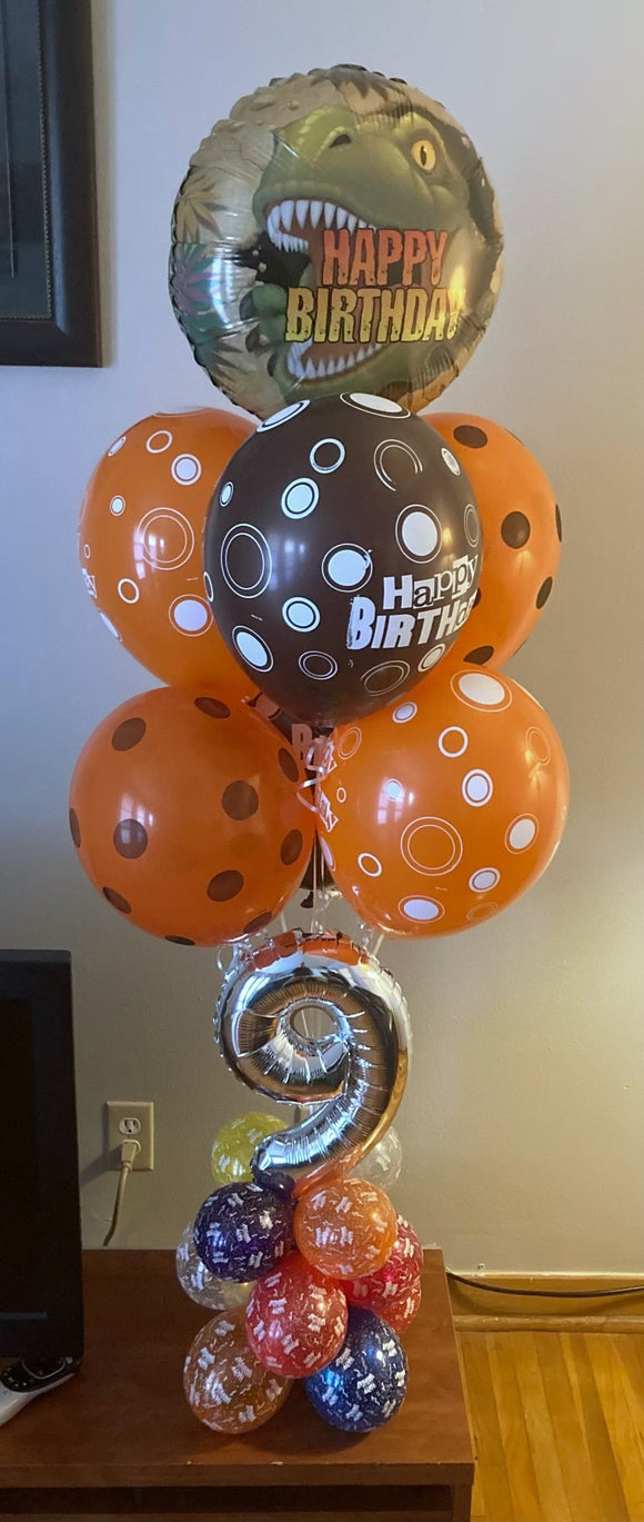 Deluxe Balloon Centerpieces For Adults (Order for Delivery or Curbside Pickup)