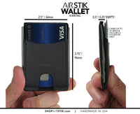 AIRSTIK WALLET universal multi-purpose wallet
