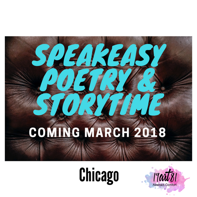 Speakeasy Poetry & Storytime (March 2018)