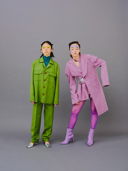2019SS<br>Snow White Suit Vast<br>(Purple)