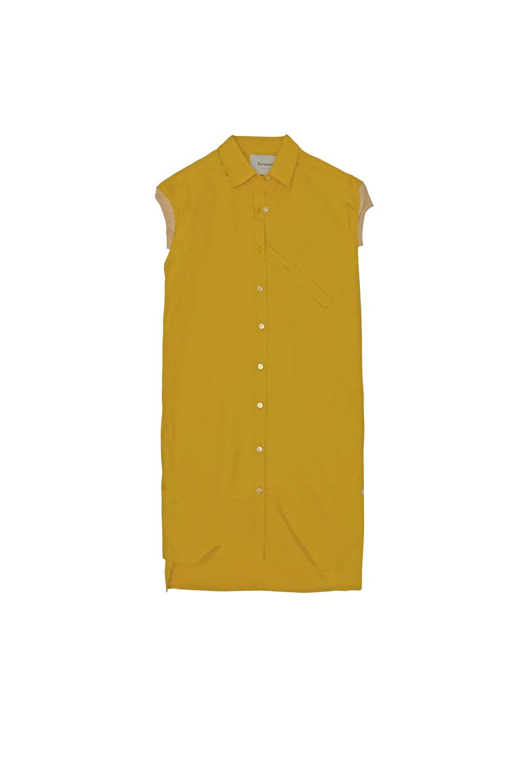 2019SS<br>3D Sleeve Shirt<br>(Yellow)