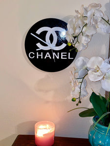 Chanel Lacquer Wall Clock