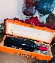 hermes wine gift box