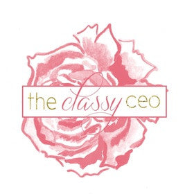 The Classy CEO's Business Plan