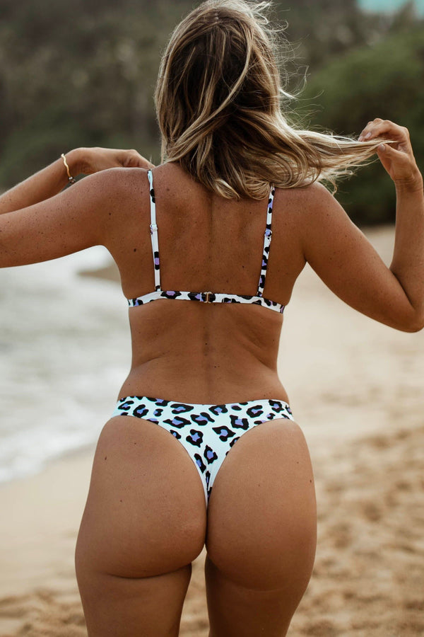 BALI BOTTOM (PURPLE CHEETA)