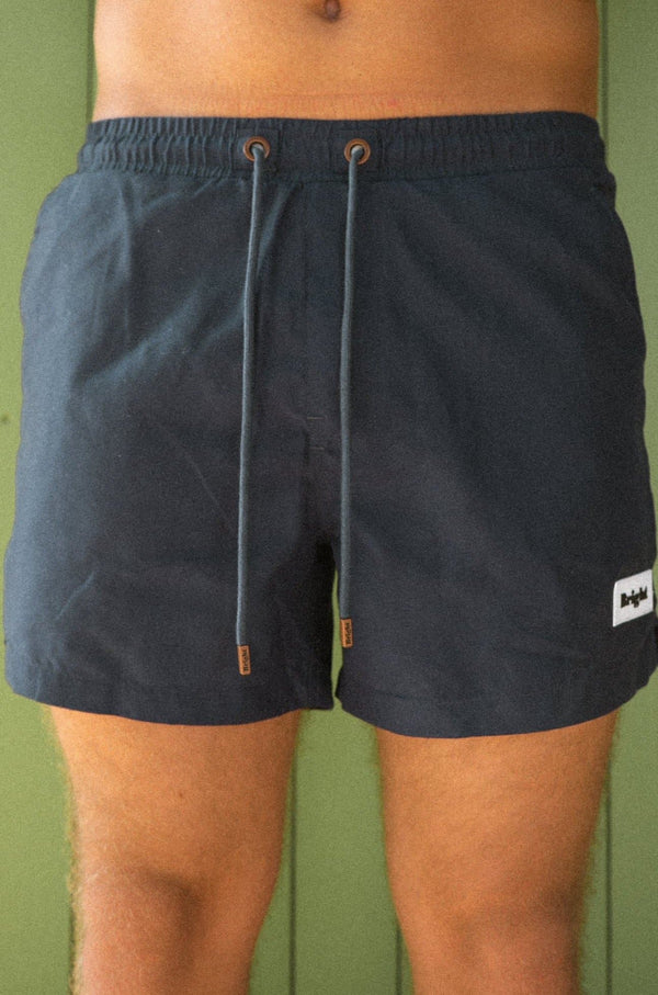 BRIGHT SWIMSHORTS (NAVY BLUE)