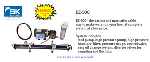 cheap watermaker, DIY watermaker