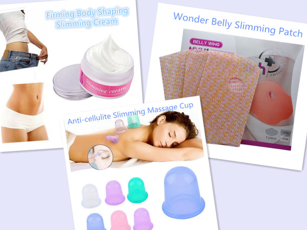 1 Piece Anti-cellulite Slimming Massage Cup (Random Color)