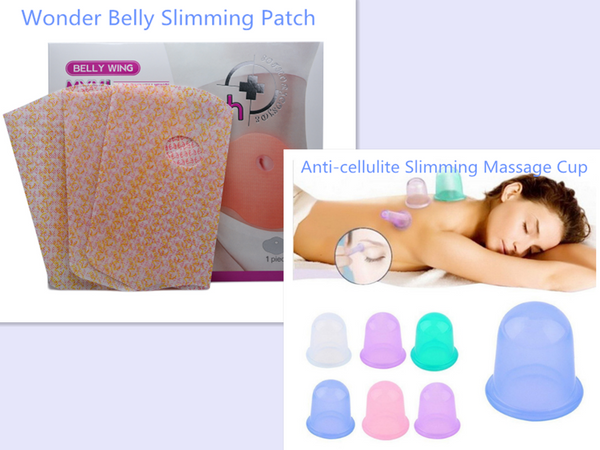 5 Pcs Set Wonder Belly Slimming Patch