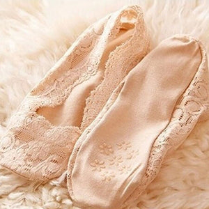 Lace Antiskid Invisible Liner Socks