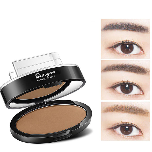 3 Colors Waterproof Eyebrow Stamp