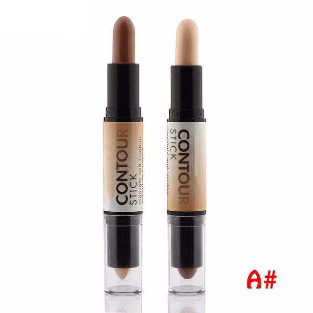 Double-Ended 2 In 1 Contour Stick Highlighter