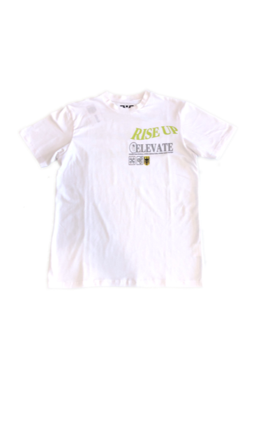 E.Y.E. RISE UP T-SHIRT (WHITE)