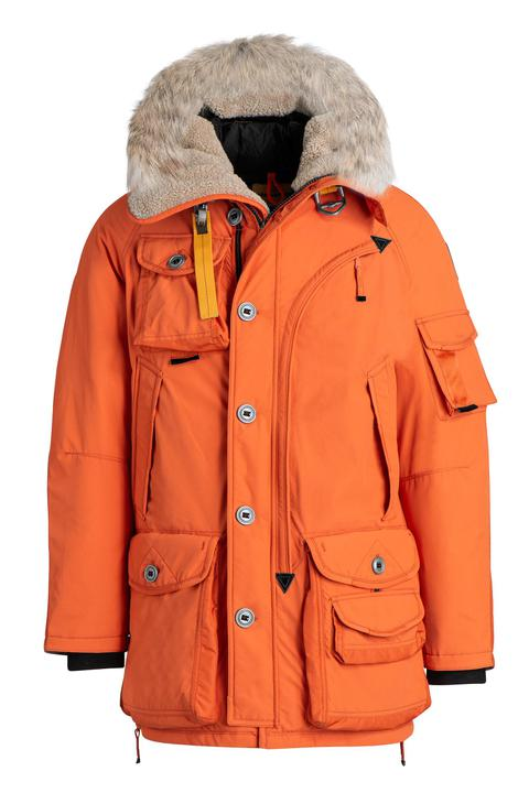 PARAJUMPERS MUSHER ORANGE PARKA JACKET