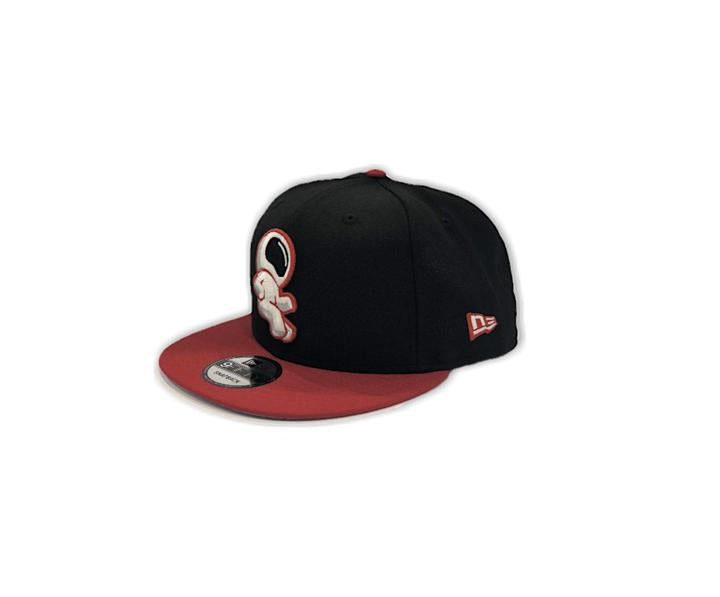 E.Y.E (BLACK/WHITE/RED) SNAPBACK