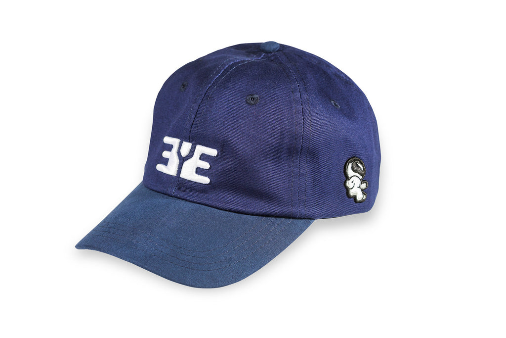 E.Y.E Summer Suede EYE Strapback Navy Blue