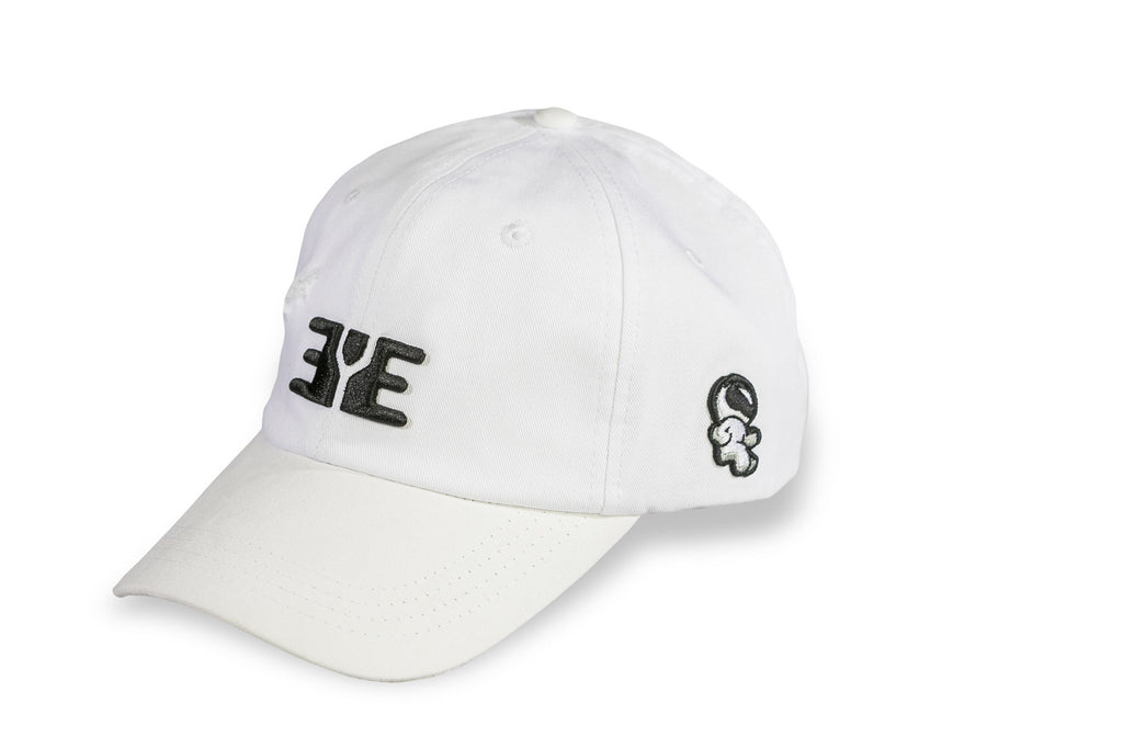 E.Y.E Summer Suede EYE Strapback White