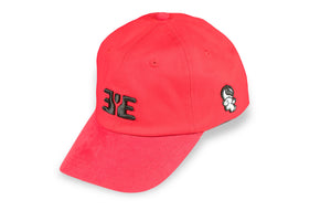 E.Y.E Summer Suede EYE Snapback Red