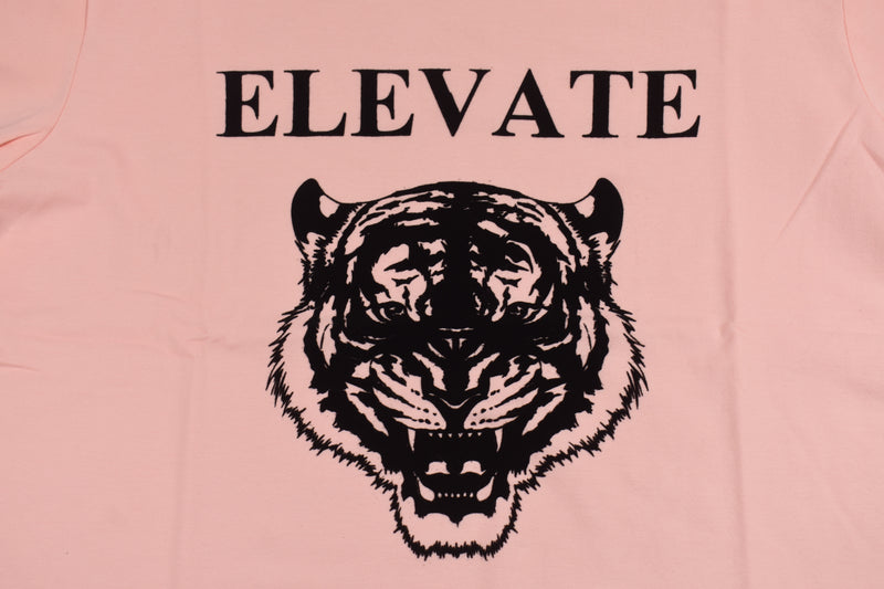 ELEVATE 'Eye of the Tiger' Salmon Tee