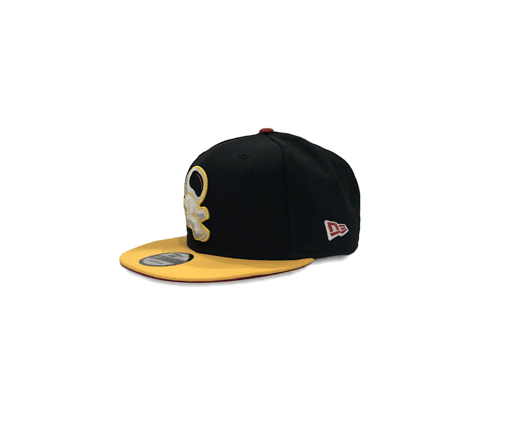 E.Y.E (BLACK/WHITE/YELLOW) SNAPBACK