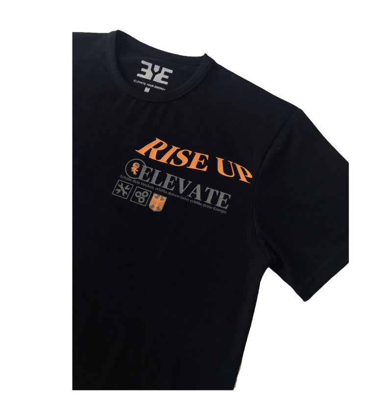 E.Y.E. Rise UP Black Tee (Yeezy 700 Wave Runner)