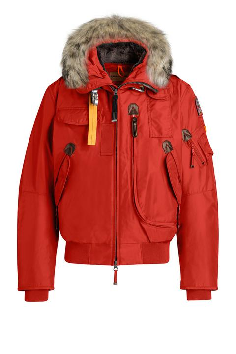 PARAJUMPERS GOBI RED BOMBER JACKET