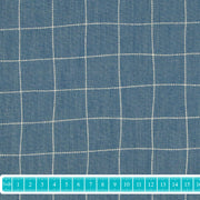 "Katia Denim ""Healthy Squares"" blau-Stoffe-Jinny & Joe"