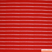 "Hilco Jersey ""sea stripes"" rot-Stoffe-Jinny & Joe"