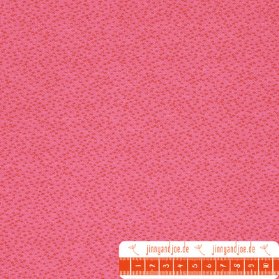 "lillestoff Jacquard ""Dotties"" pink-orange-Stoffe-Jinny & Joe"