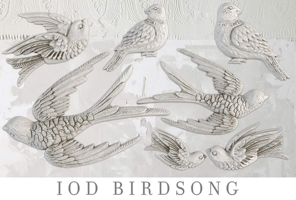 Iron Orchid Designs ~ Moulds - Birdsong