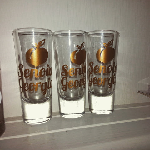 Senoia Shot Glass