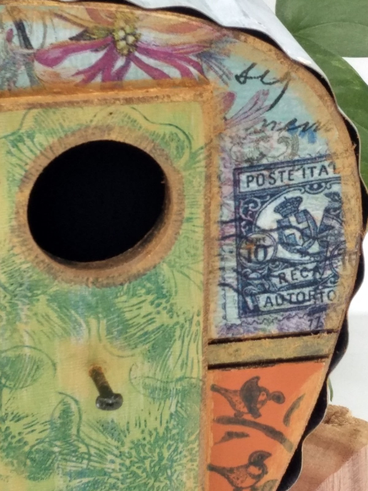 Vintage Style Birdhouse Campers