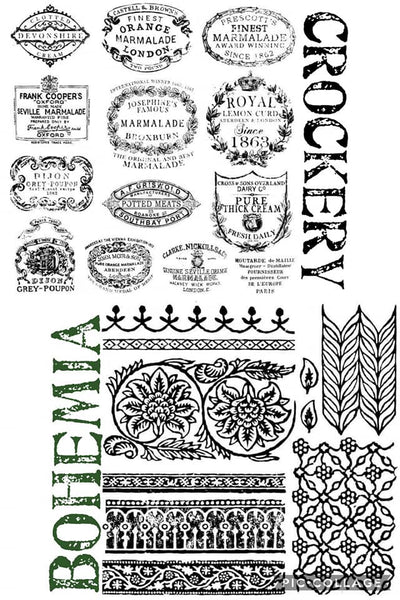 Iron Orchid Designs ~ Stamps