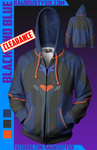 Black and Blue Hoodie! [Limited]