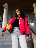 Black and Red Bomber Jacket! [Preorder]