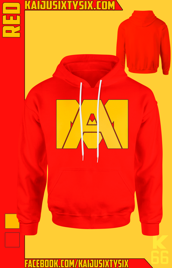 Red Deku/All Might Hoodie! [Preorder]