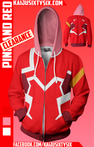 Pink and White Hoodie! [Limited]