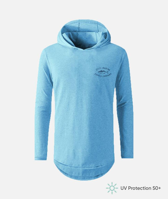 Jetty Life Ahi LS Hooded Solar