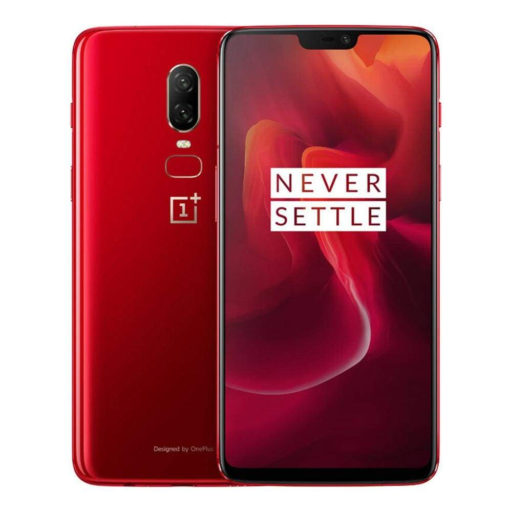 Oneplus 6 6.28 Inch Full Screen 4G Smartphone Snapdragon 845 8GB 128GB 20.0MP+16.0MP Dual Rear Cameras Android 8.1 NFC Dash Charge Type-C -