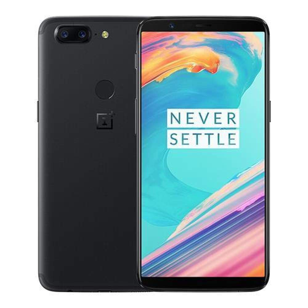 OnePlus 5T 6.01 Inch Smartphone 18:9 FHD+ Screen Snapdragon 835 Octa Core 6GB 64GB 20.0MP+16.0MP Dual Rear Cam OxygenOS NFC Dash Charge Type