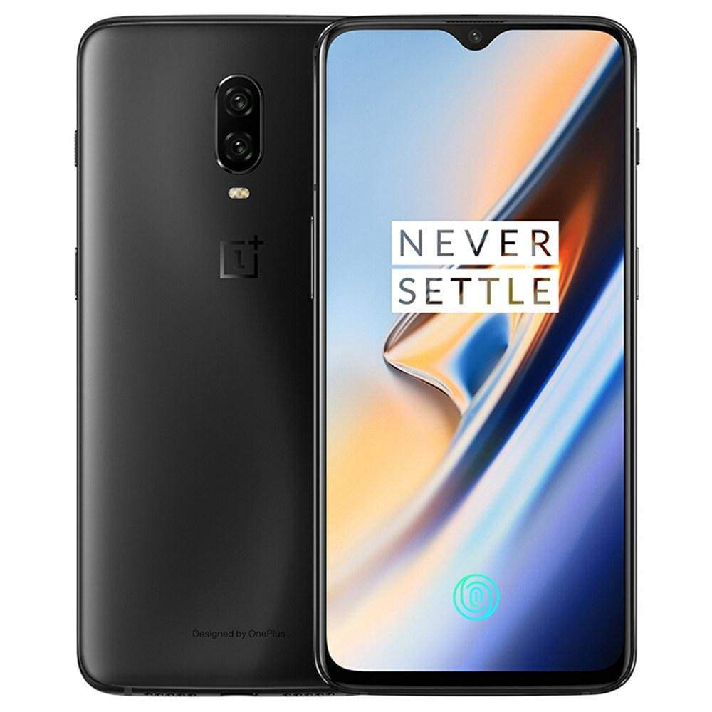 Oneplus 6T 6.41 Inch 4G LTE Smartphone Snapdragon 845 8GB 128GB 16.0MP+20.0MP Dual Rear Cameras Android 9.0 In-Display Fingerprint NFC Fast