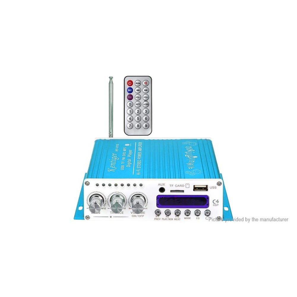 Kentiger V10 Bluetooth V4.0 Digital Power Amplifier - HY2001 Blue - Amplifiers