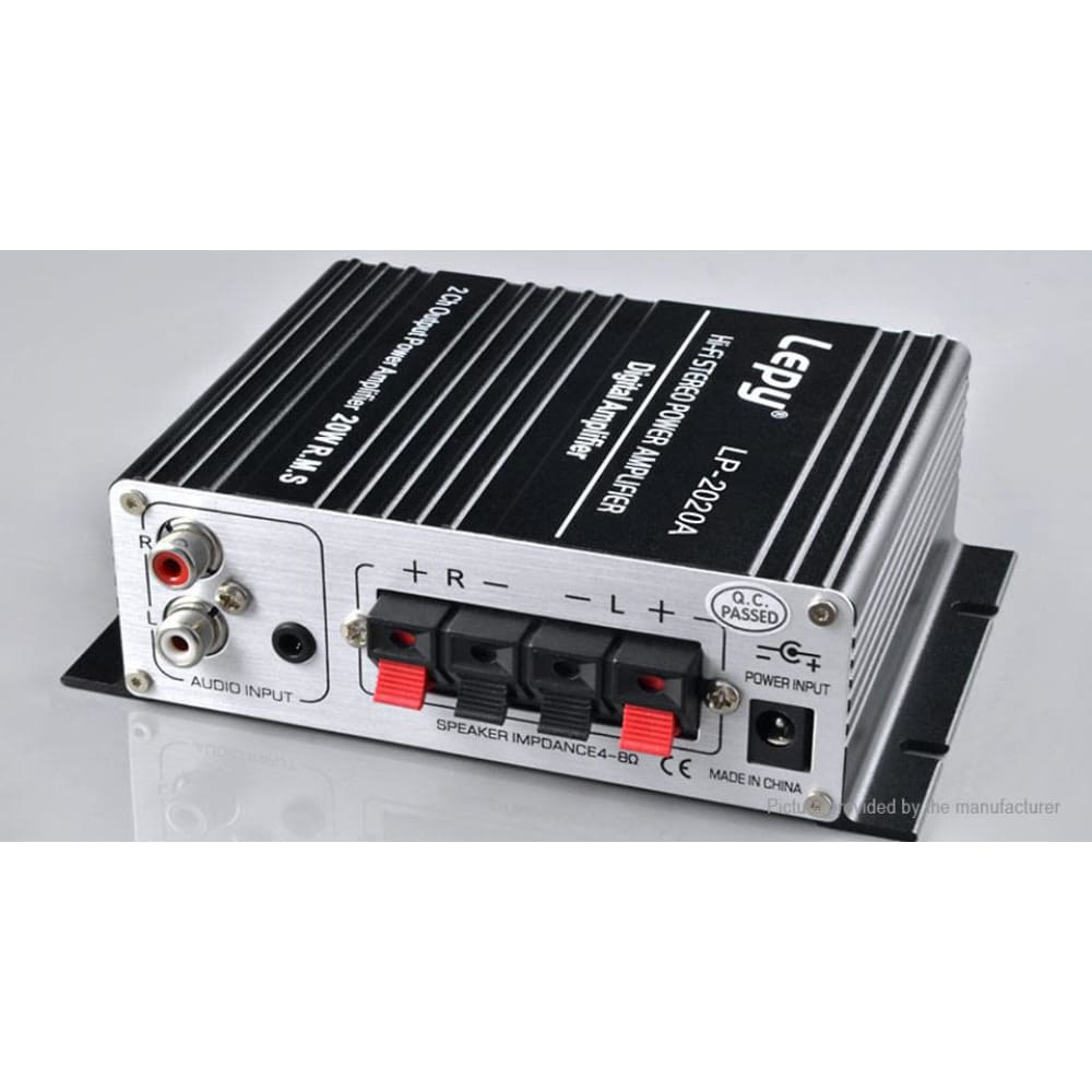 Lepy LP-2020A 12V Mini Hi-Fi Stereo Digital Audio Power Amplifier (AU) - Amplifiers