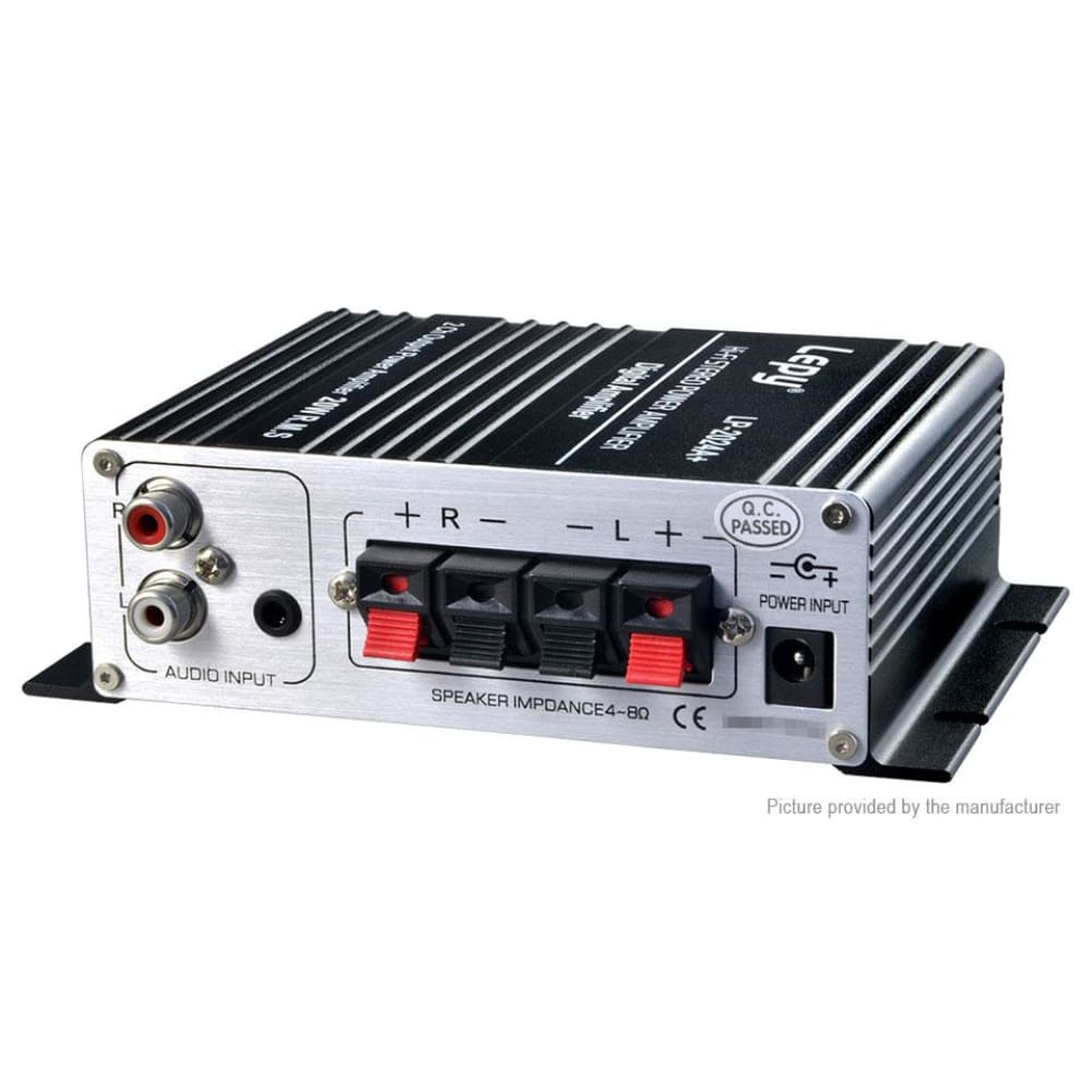 Lepy LP-2024A+ HiFi Class-T Stereo Audio Amplifier - Amplifiers